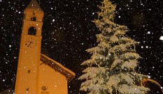 Chiesa Sant'Antonio Abate sotto la neve