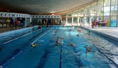corso in piscina per i piu' piccoli